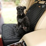 Housse de siège de chien pour chien panier de siège pour animaux étanche - Noir_