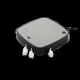 Station de charge X-Moove 3x USB-A 1x port USB-C 10W Qi Wireless Charging Pad - Gris_