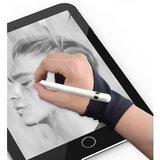 Étui à gants anti-toucher Apple Pencil Samsung Stylus - Noir Main droite_
