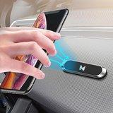 Tableau de bord de voiture magnétique pour support de téléphone Wozinsky - Noir_