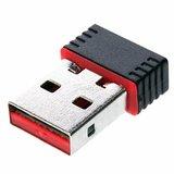 Adaptateur réseau USB clé USB WiFi sans fil 802.11n - Noir_