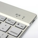 Witspad Bluetooth Keyboard Cover Keyboard Cover Case Backlight iPad Air 2 - Silver - QWERTY_