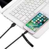 MOMAX MFi Lightning Câble USB 1 mètre - Câble de charge noir_