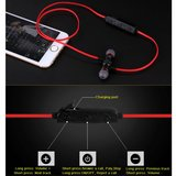BH-M9 Écouteurs intra-auriculaires mains libres sans fil Bluetooth 4.1 Sport micro - Noir Rouge_