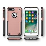 Étui de protection Pro Armor pour iPhone 7 Plus 8 Plus - Étui en or rose_