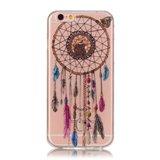 Coque en TPU Clear Dreamcher iPhone 6 6s - Marron_