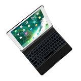 QWERTY Clavier clavier étui bluetooth rétro-éclairage iPad Pro 10,5 pouces et iPad Air 3 (2019)_