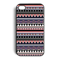 iPhone 4 / 4s motif indien Aztec Tribal housse rigide housse