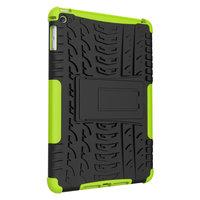 Coque iPad mini 4 5 en plastique TPU pour poignée de couverture de profil de bande - Vert