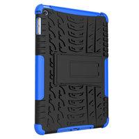Coque iPad mini 4 5 en plastique TPU pour poignée de poignée de profil de bande - Bleu