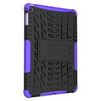 Coque iPad mini 4 5 en plastique TPU pour poignée de couverture de profil de bande - Violet