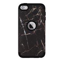 Armor Case Anti-poussière Marbre iPod Touch 5 6 7 - Marbre noir