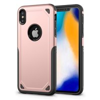 Coque de protection ProArmor Coque iPhone XS Max - Or rose - rose