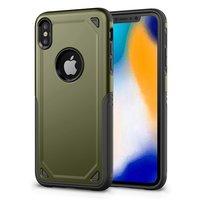 Coque de protection ProArmor pour iPhone XS Max - Armée verte