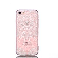 Coque iPhone 7 8 SE 2020 Mandala TPU Transparent - Transparente
