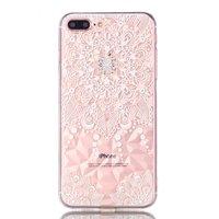Coque Mandala Diamond Look pour iPhone 7 Plus 8 Plus - Transparente