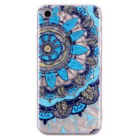 Coque Mandala Diamond Look pour iPhone 7 8 SE 2020 - Bleue