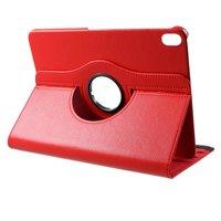 Étui en cuir Litchi Grain rotatif standard iPad Pro 11 pouces 2018 - Rouge