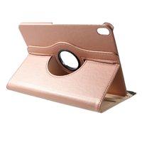Étui en cuir Litchi Grain rotatif standard iPad Pro 11 pouces 2018 - Or rose