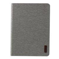Housse JFPTC Fabric Leatherette pour iPad Pro 12,9 pouces 2018 - Tissu gris