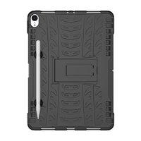 Coque iPad Pro Hybrid TPU Polycarbonate TPU 11 pouces 2018 - Profil Noir Standard
