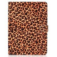 Étui portefeuille en cuir pour iPad Pro 11 pouces 2018 Panther Print - Motif léopard marron