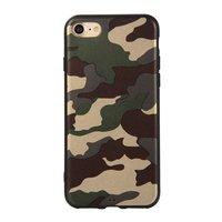 Coque Camouflage TPU Camo Army iPhone 7 8 SE 2020 - Vert Armée