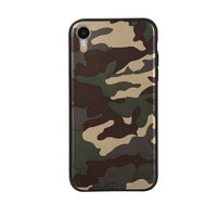 Coque Camouflage TPU Camo Army iPhone XR - Vert Armée