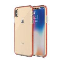 Coque de protection colorée pour iPhone XS Max Coque arrière TPE TPU - Orange