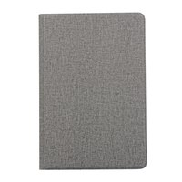 Étui à rabat en jean anti-poussière TPU iPad mini 4 5 - Gris