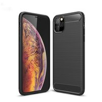 Coque de protection Carbon Armor TPU antichoc iPhone 11 Pro Max - Noir