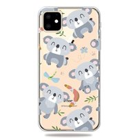 Coque iPhone 11 en TPU Sweet Flexible Koala Case - Transparente