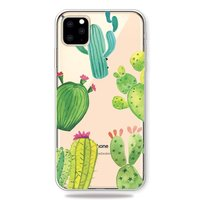 Coque Flexible Cactus pour iPhone 11 Pro Max TPU - Transparente