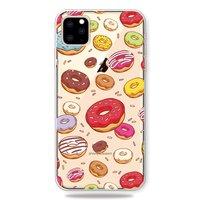 Coque Joyeux Flexible Donuts pour iPhone 11 Pro Max TPU - Transparente