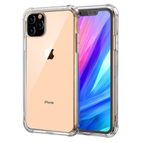 Coque transparente antichoc TPU protection iPhone 11 - Transparent