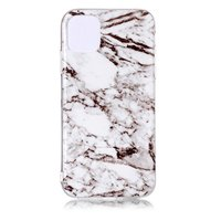 Coque iPhone 11 Pro Marble Pattern Natural Stone White Case