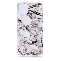 Coque iPhone 11 Pro Max Marble Pattern Natural Stone White Case