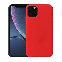 Coque en TPU Soft Silky iPhone 11 Red Case - Rouge
