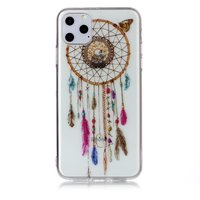 Dreamcatcher Mandala Web Beads Color Spiritual Case Case TPU iPhone 11 Pro Max - Transparent