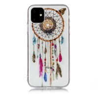 Dreamcatcher Mandala Web Beads Color Spiritual Case Case TPU iPhone 11 - Transparent