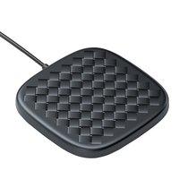 Baseeus BV Woven Texture 10W 7.5W Wireless Qi Charging pad - Noir