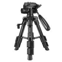 Zomei Q100 trépied portable trépied en aluminium appareil photo reflex numérique voyage - Noir