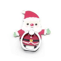 Support de bague porte-doigt de Noël pour smartphone - Père Noël