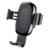 Baseus Gravity Support de téléphone de grille de ventilation avec charge sans fil Qi 10W
