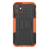 Étui hybride standard antichoc pour iPhone 11 - Orange
