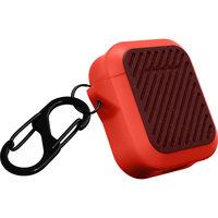 Housse de protection étui antichoc LaP Capsule AirPods - Orange rouge