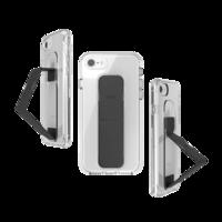 Étui antidérapant CLCKR pour iPhone 6 6s 7 8 SE 2020 - Noir transparent