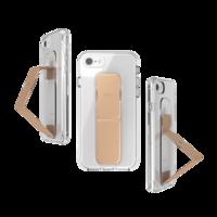 Étui antidérapant CLCKR pour iPhone 6 6s 7 8 SE 2020 - Or rose transparent