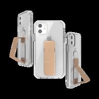 Étui antidérapant CLCKR pour iPhone 11 - Or rose transparent