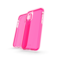 Étui antichoc Gear4 Crystal Palace Neon Case iPhone 11 - Rose